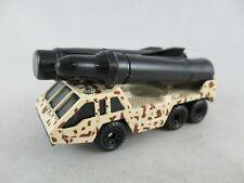 Matchbox Rocket Transporter military camo