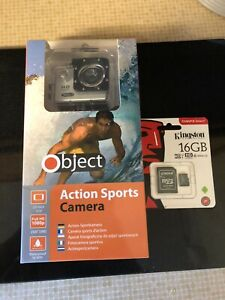 Object Action Waterproof Sports Camera
