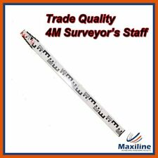 4M 6 Sections Aluminum Staff Staves for Dumpy Level Laser Level