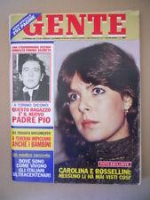 GENTE 48 1981 Carolina di Monaco Agatha Christie Doris Day Barbara Bouchet [C36]