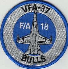 VFA-37 RAGIN' BULLS F/A-18 SHOULDER  PATCH
