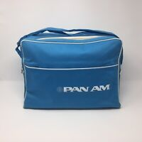 48 Years Old Pan Am Pan American Airlines Carry Travel Bag strap USA 1971 NEW