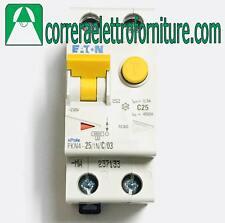 EATON 237133 Interruttore magnetotermico differenziale AC 1P+N 25A 300ma 4,5KA