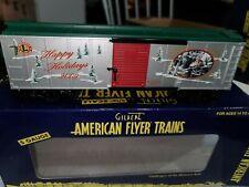 American Flyer #6-48376 2009 HOLIDAY BOX CAR NIB, Estate Lot # 667, 665