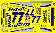 #77 Dave Blaney Jasper Engines 2003 1/32nd Scale Waterslide Decal Slot Car