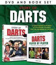 STORY OF DARTS DVD & BOOK GIFT SET NEW BOBBY GEORGE ERIC BRISTOW PHIL TAYLOR