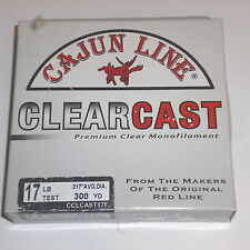 Cajun Line ClearCast Fishing Line (17# Test-300 yards)