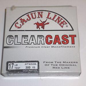 Cajun Line ClearCast Fishing Line (17# Test-300 yards)