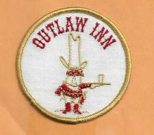 OUTLAW INN  ADVERTISING PATCH 3""