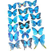 12 Pz di Farfalle Decorazione da Parete, Adesivo da Parete