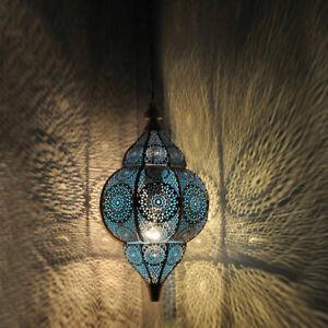 Modern Turkish Hanging Lamps Golden Moroccan Ceiling Lights Home Lantern Gifts