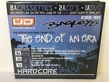UNITED DANCE THE END OF AN ERA UK HARDCORE RAVE 8 TAPE PACK & 2 CD'S & DVD NEW