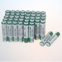 Lot of 40pcs Green AAA 1350mAh 1.2V NI-MH Rechargeable Battery 3A BTY Batteries