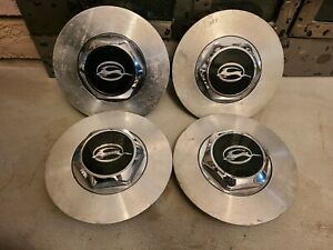 "4 Chevrolet Impala SS Center Caps 1994 1995 1996 17"" wheel"