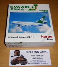 McDonnell Douglas md-11 EVA Air 1:500 Herpa Wings 503419 collezione privata (4)