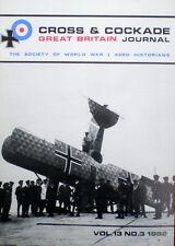 CROSS & COCKADE VOL.13 NO.3 1982 (Thulin Aircraft 1914 - 1919)