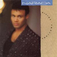 "Narada – Divine Emotions Vinyl 7"" P/S Single UK W7967 1988"