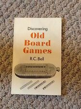 Discovering Old Board Games, by R.C. Bell, 1980