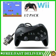 Paquete De 1/2 - Para Nintendo Wii Remote Pro Juego Clásico Controlador Pad Consola Joypad