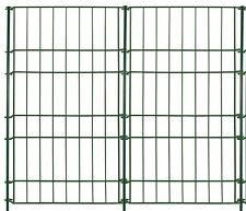 Zaun Set Rüden 5tlg. Tiergehege Teichzaun Rankhilfe Stahldraht 90x80cm grün Neu
