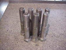 """1.25 -7nc x 7"""" Stainless Steel Hex Bolt ( 7 pc Lot )"""