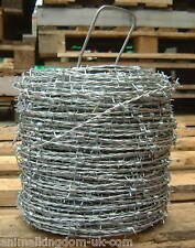 Tornado Barbed Wire - 1.6mm wire 200m  Livestock Field Paddock Security Fencing
