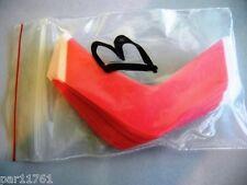 "ORIGINAL WALKER TAPE BRAND SENSI-TAK Red Tape Contour ""B"" 36 piece bag"
