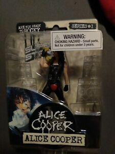 Superstars Alice  Cooper- Are You Ready To Rock - Series #1  Super Stars