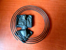 """Wall Clock Strike Coil Gong Assembly Used 4"""" Japanese 31 Day (735E)"""