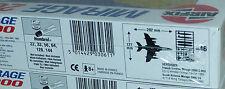 2x Starter Set Airfix  03061 Mirage 2000 1:72 Bausatz, unbespielt