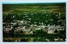 Napanee, Ontario, CANADA - SMALL TOWN AIR VIEW - Vintage Unused Postcard #2 - C1