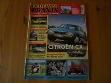 Zeitung OLDTIMER PRAXIS 10/2008 Citroen CX,Alfa Romeo Spider,Ford P3 Pick-up