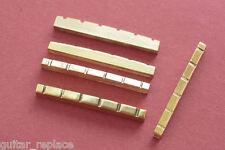 Cejuela Latón 42x3x5,2 PreCortada Telecaster Stratocaster Brass Nut