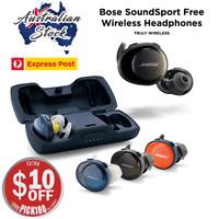 New Bose SoundSport Free True Wireless In-Ear Headphones - 3 Colours - EXPRESS