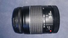 Canon EF 28-80mm F/3.5-5.6 II Zoom Lens. Automatic Focus.