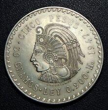 MEXICO. 5 Pesos 1947. CUAUHTEMOC.