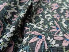 Liberty Silk/Wool, 'Spring Snowdrops', (3.60m x 1.40m piece) dress fabric