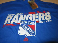NWT NHL New York Rangers Blue Short Sleeve T-Shirt Size Large FREE SH