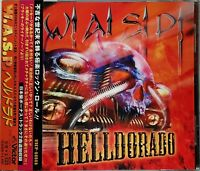W.A.S.P. ‎Helldorado Japanese CD Reissue Remastered As New Never Played OBI!
