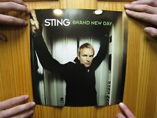 Sting Poster The Police Brand New Day And Desert Rose Elevator Double Sided
