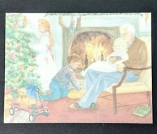Christmas Card PVA Paralyzed Veterans Grandpa and the Grandkids (Great Memories)