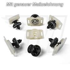 5x Türverkleidung Clips & Halterung Audi A4 A6 A8 TT Q5 RS4 RS6 VW Skoda Neu