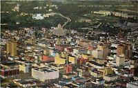 San Diego California~Aerial View Downtown Business Panorama~1940s Postcard