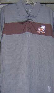 Cleveland Browns Brownie Elf Antiqua Contest Polo 2X