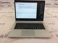 HP EliteBook 830 G5 Core i5-8350U 8GB DDR4 256GB M.2 SSD Cracked Screen - READ