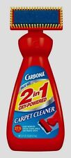 #229 27.5oz Carbona 2 in 1 Oxy Powered Liquid Carpet Cleaner w/ Brush Pet Stains