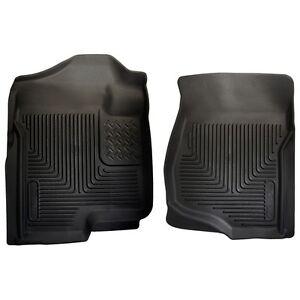 2007-2013 GMC Sierra 1500 Husky Black X-act Contour Front Floor Liner In Stock!