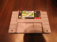 Bugs Bunny Rabbit Rampage SNES Super Nintendo Video Game Cartridge FREE SHIPPING
