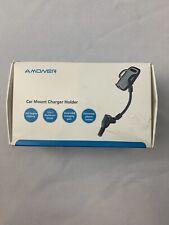 Amoner Car Mount Charger Holder 3-1 Multifunctional Dual USB Cigarette Lighter