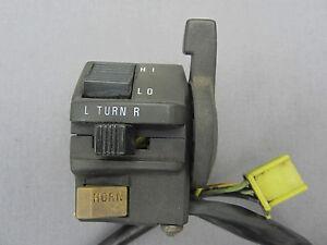 SUZUKI GSX 600 F GSX600F LEFT HANDLE BAR SWITCH GEAR LIGHTS SWITCH 1988 - 1997